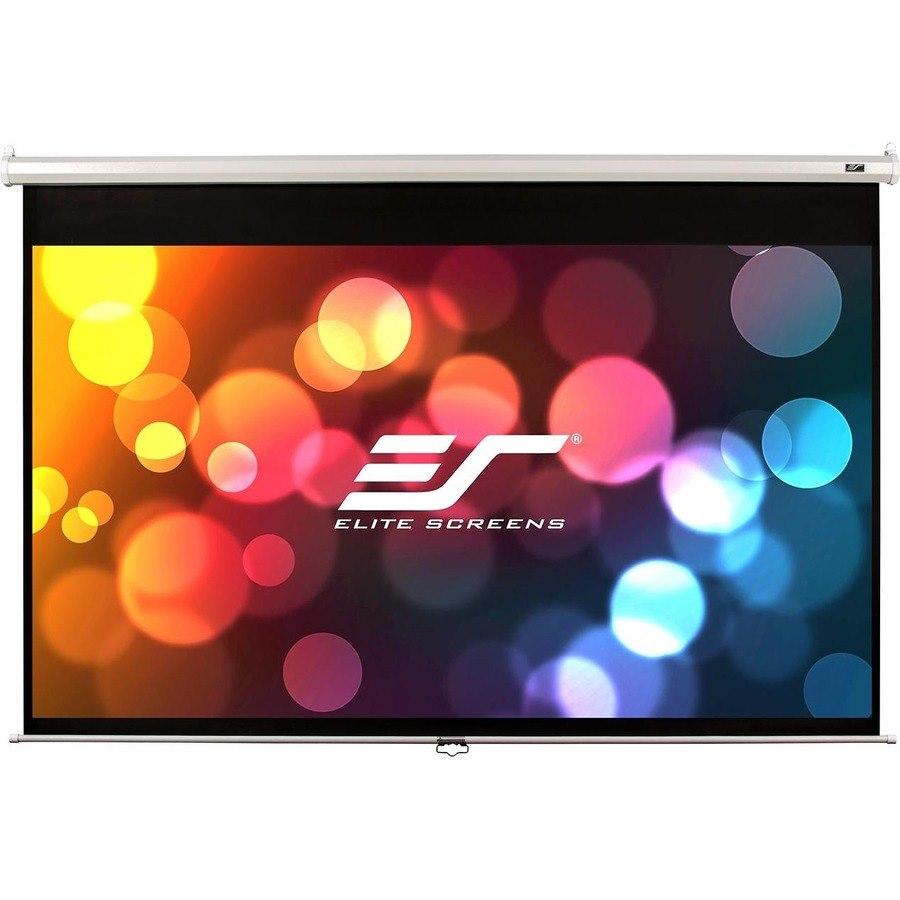 "Elite Screens Manual M128NWX 325.1 cm (128"") Manual Projection Screen"