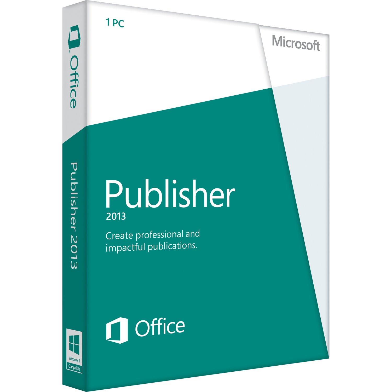 Microsoft Publisher 2013 (Windows)
