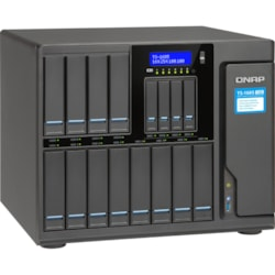 QNAP High-capacity 16-bay Xeon D Super NAS with Exceptional Performance