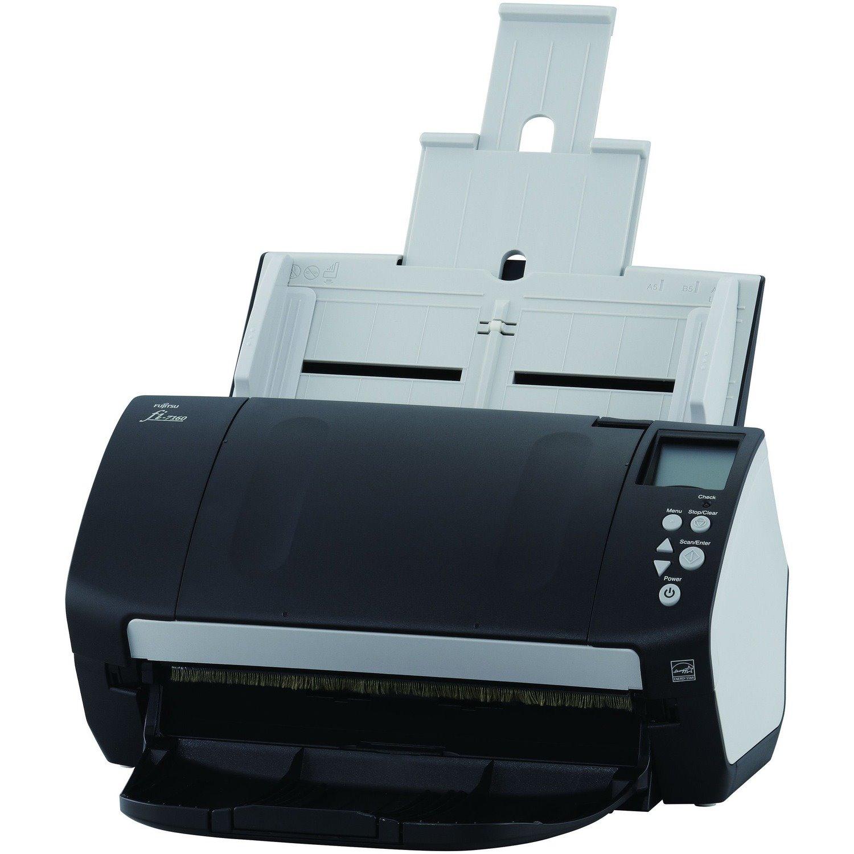 Fujitsu fi-7160 Deluxe Professional Desktop Color Duplex Document Scanner with Paperstream Capture Pro