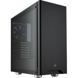 Corsair Carbide 275R Gaming Computer Case - ATX, Micro ATX, Mini ITX Motherboard Supported - Mid-tower - Steel, Plastic, Acrylic - Black