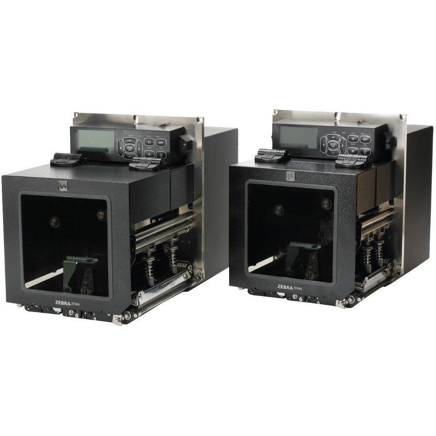 Zebra ZE500-6 Desktop Thermal Transfer Printer - Monochrome - Label Print - Ethernet - USB - Serial - Parallel