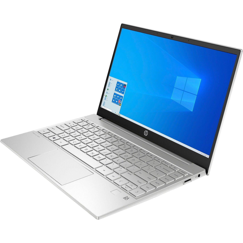 "HP Pavilion 13-bb0000 13-bb0023TU 33.8 cm (13.3"") Notebook - Full HD - 1920 x 1080 - Intel Core i3 (11th Gen) i3-1115G4 Dual-core (2 Core) - 8 GB RAM - 256 GB SSD - Natural Silver Aluminum"