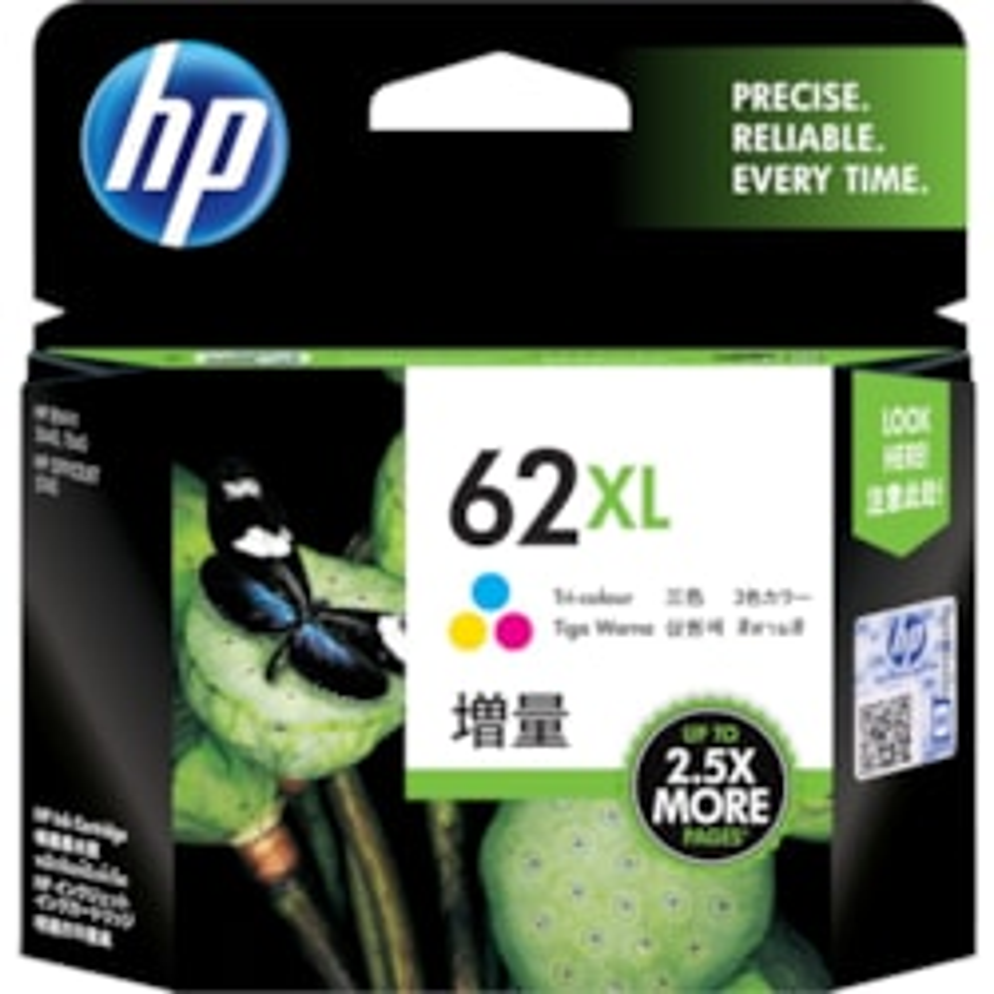 HP 62XL Original Ink Cartridge - Tri-colour