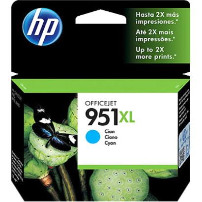 HP 951XL Original Ink Cartridge - Cyan