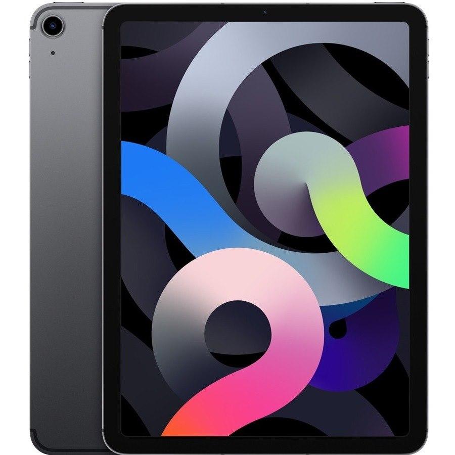 "Apple iPad Air (4th Generation) Tablet - 27.7 cm (10.9"") - 64 GB Storage - iPadOS 14 - 4G - Space Gray"