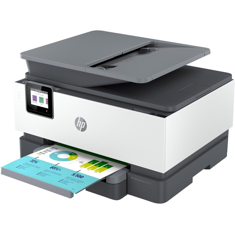 HP Officejet Pro 9010e Inkjet Multifunction Printer - Colour