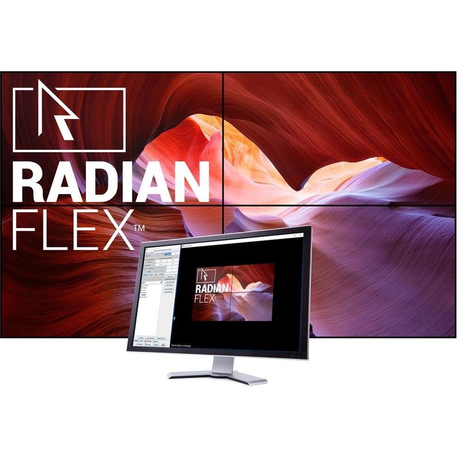 Black Box Radian Flex Video Wall Layout - Upgrade License - 1 License - TAA Compliant
