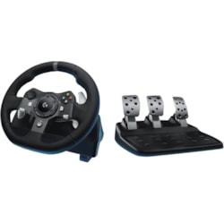 Logitech Driving Force G920 Gaming Steering Wheel, Gaming Pedal PC/XBOX ONE