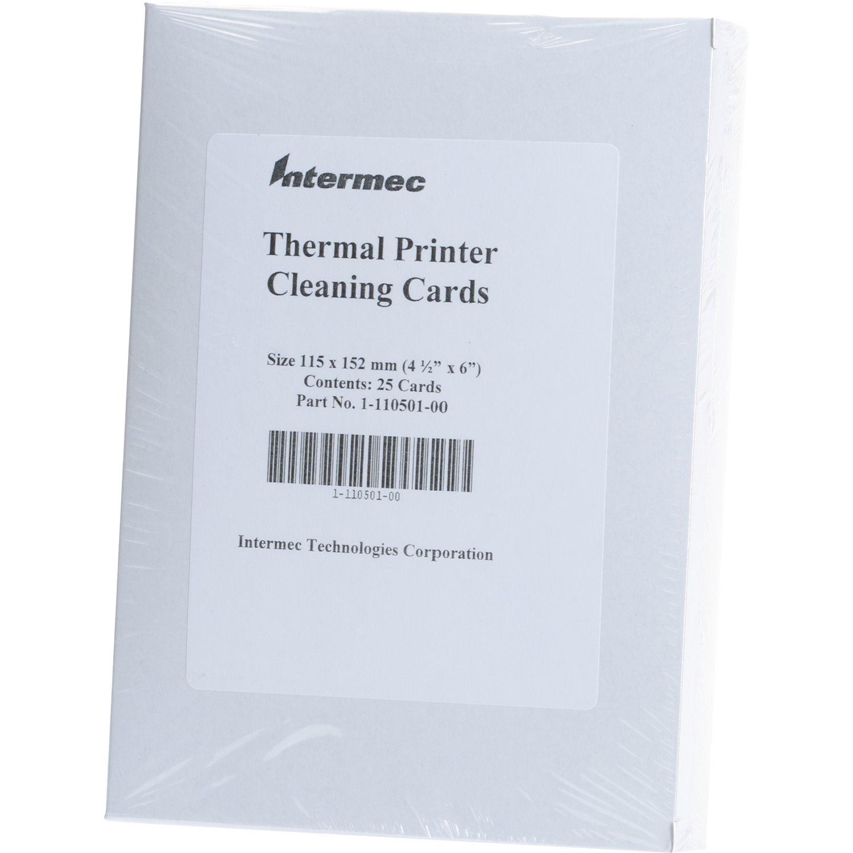 Intermec 1-110501-00 Cleaning Card