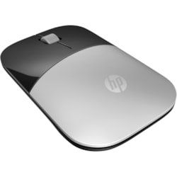 HP Z3700 Mouse - Radio Frequency - USB - Blue LED - Silver