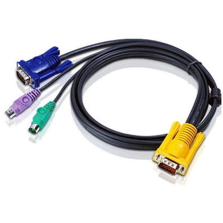 ATEN 3.05 m KVM Cable - 1