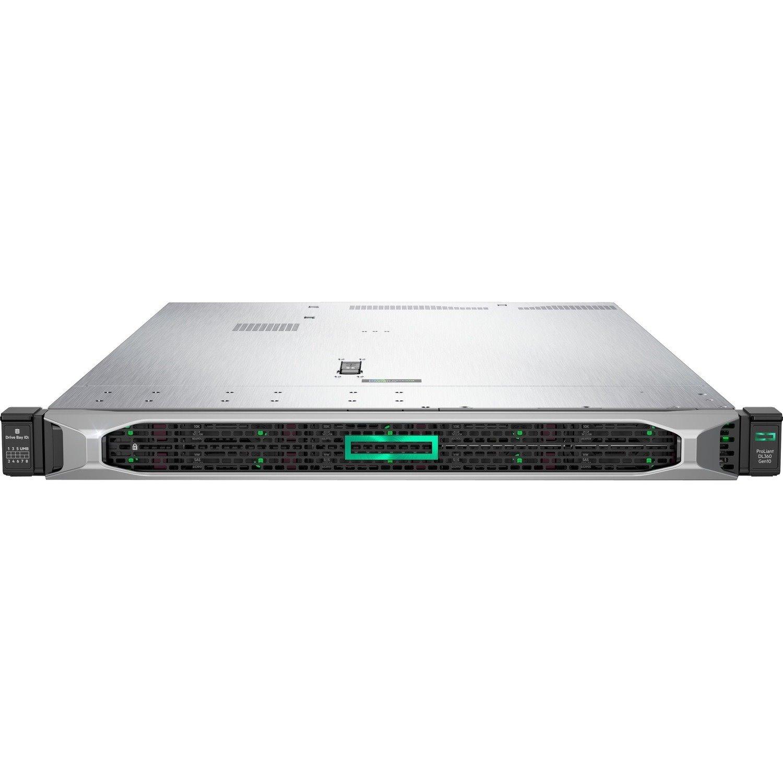 HPE ProLiant DL360 G10 1U Rack Server - 1 x Intel Xeon Gold 5222 3.80 GHz - 32 GB RAM - Serial ATA/600, 12Gb/s SAS Controller