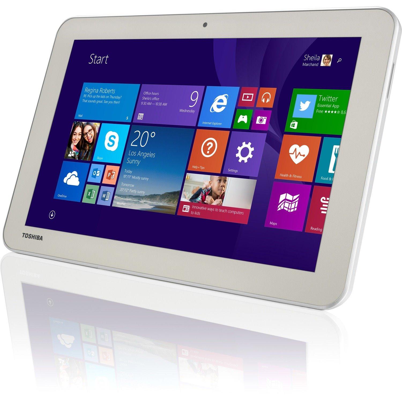 "Toshiba Encore 2 WT10-A32 Tablet - 10.1"" WXGA - Atom Z3735G Quad-core (4 Core) 1.33 GHz - 1 GB RAM - 32 GB Storage - Windows 8.1 - Matte Satin Gold"