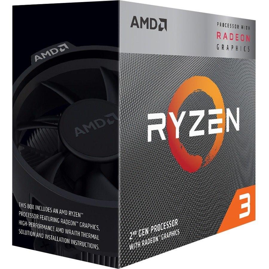 AMD Ryzen 3 3200G Quad-core (4 Core) 3.60 GHz Processor - Retail Pack