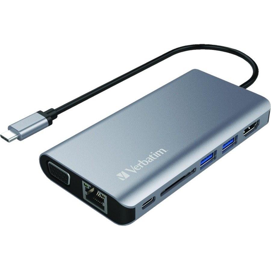 Verbatim USB Type C Docking Station for Notebook - 60 W