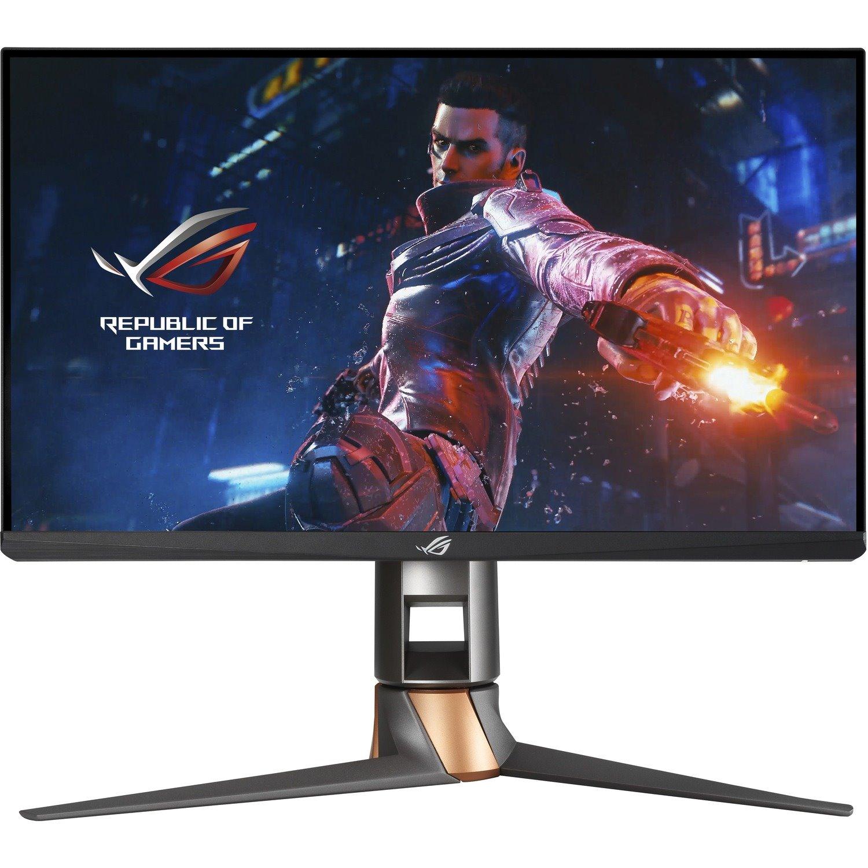 "Asus ROG Swift PG259QNR 62.2 cm (24.5"") Full HD WLED Gaming LCD Monitor - 16:9 - Black, Silver"