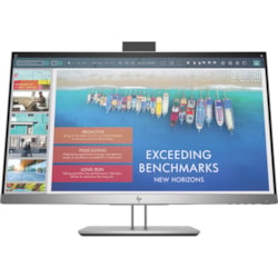 "HP Business E243d 60.5 cm (23.8"") Full HD LED LCD Monitor - 16:9 - Silver, Black"