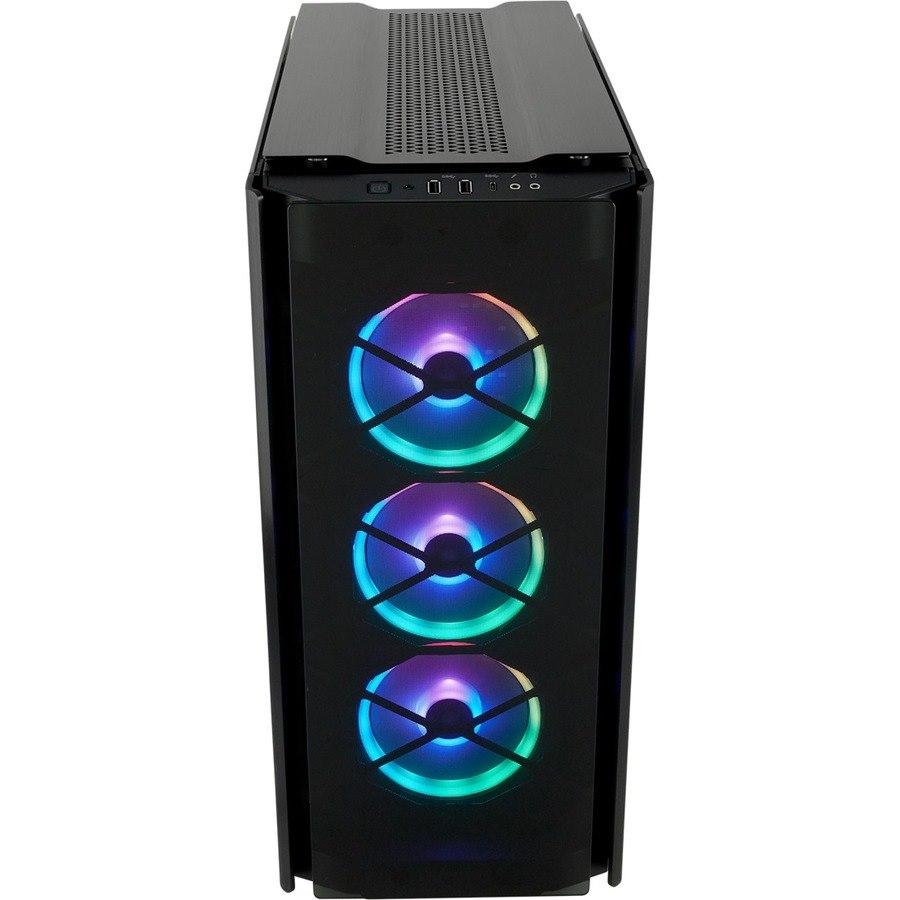 Corsair Obsidian 500D Computer Case - ATX, Mini ITX, Micro ATX Motherboard Supported - Mid-tower - Aluminium