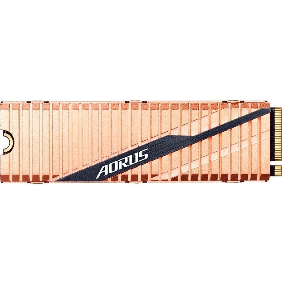 Aorus GP-ASM2NE6100TTTD 1000 GB Solid State Drive - M.2 2280 Internal - PCI Express NVMe (PCI Express NVMe 4.0 x4)