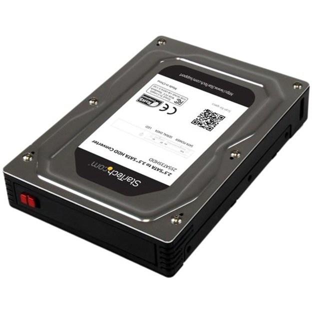 """StarTech.com Drive Bay Adapter for 3.5"""" - Serial ATA/600 Host Interface Internal"""