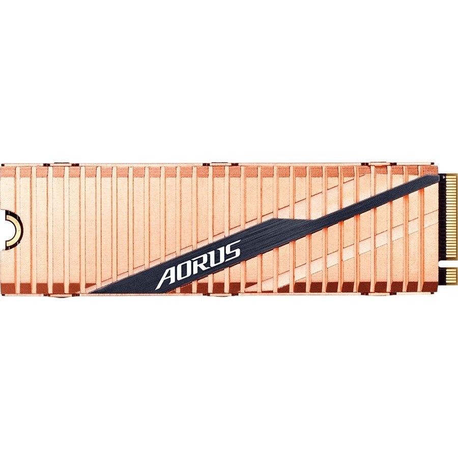 Aorus GP-ASM2NE6500GTTD 500 GB Solid State Drive - M.2 2280 Internal - PCI Express NVMe (PCI Express NVMe 4.0 x4)