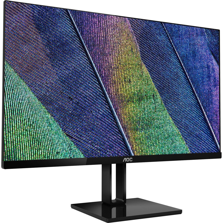 """AOC 27V2Q 68.6 cm (27"""") Full HD LED LCD Monitor - 16:9 - Black"""