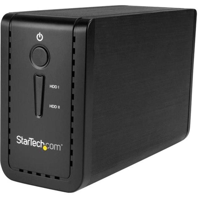 StarTech.com 2 x Total Bays DAS Storage System Desktop