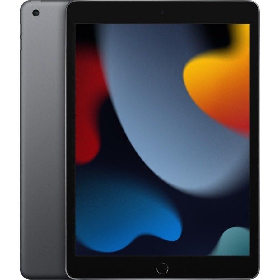 "Apple iPad (9th Generation) Tablet - 25.9 cm (10.2"") - Hexa-core (Lightning Dual-core (2 Core) 2.65 GHz + Thunder Quad-core (4 Core) 1.80 GHz) - 64 GB Storage - iPadOS 15 - 4G - Space Gray"