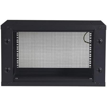 APC by Schneider Electric NetShelter WX AR106 6U Wall Mountable Rack Cabinet for Server, LAN Switch - 482.60 mm Rack Width x 329 mm Rack Depth - Black