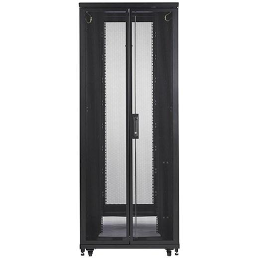APC by Schneider Electric NetShelter SV 42U Rack Cabinet - 482.60 mm Rack Width - Black