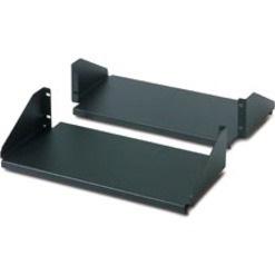 Schneider Electric Rack-mountable Rack Shelf - Black