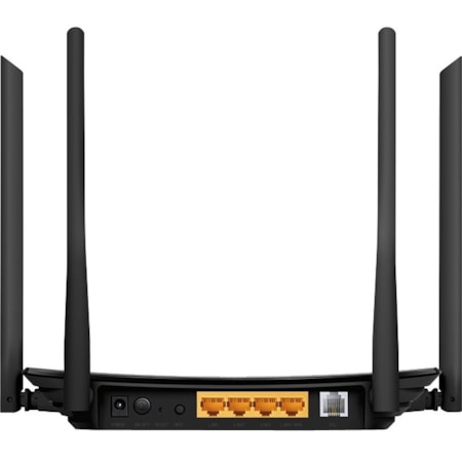 Tp-Link Ac1200 Wireless Vdsl/Adsl Modem Router, Lan (3), Ant (4),3YR WTY