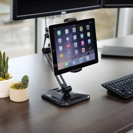 StarTech.com Desktop/Wall Mount for Tablet, iPad Pro, Smartphone - Black