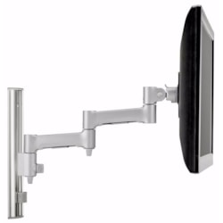 Atdec AWMS-46W35-S Wall Mount for Flat Panel Display, Curved Screen Display, Monitor - Silver