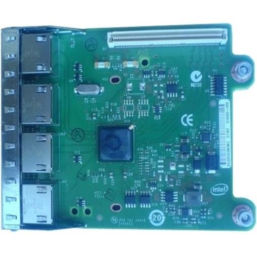 Dell I350 QP Gigabit Ethernet Card for Server - 10/100/1000Base-T - Plug-in Card