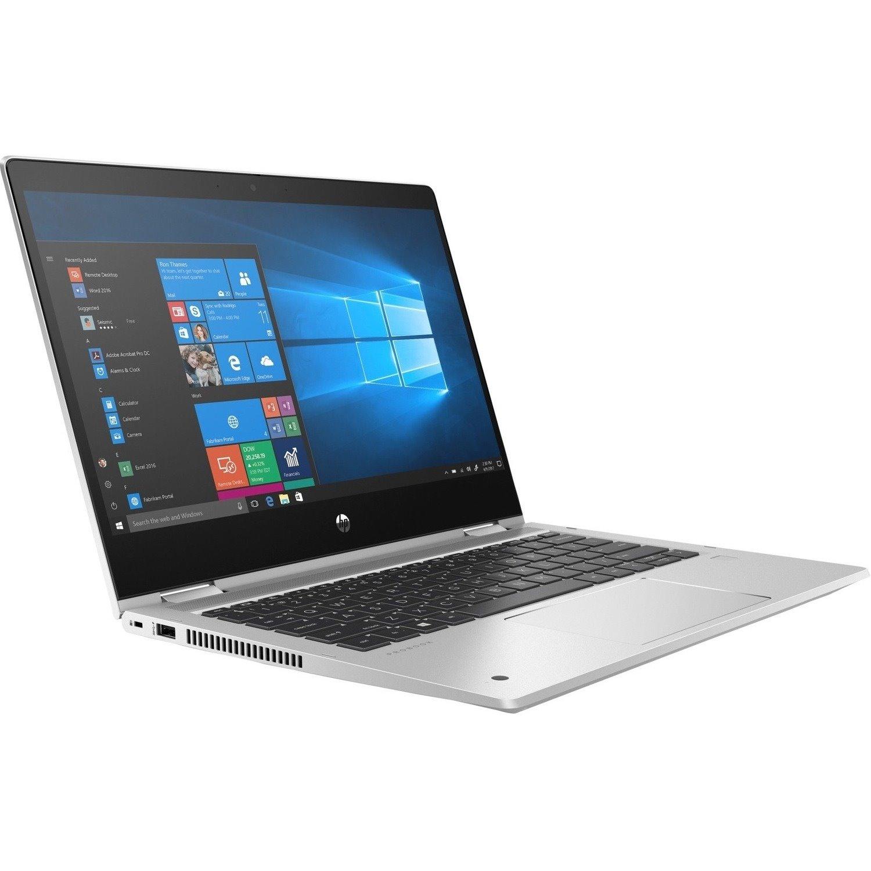 "HP ProBook x360 435 G7 33.8 cm (13.3"") Touchscreen 2 in 1 Notebook - Full HD - 1920 x 1080 - AMD Ryzen 5 4500U Hexa-core (6 Core) 2.30 GHz - 8 GB RAM - 256 GB SSD - Pike Silver Aluminum"