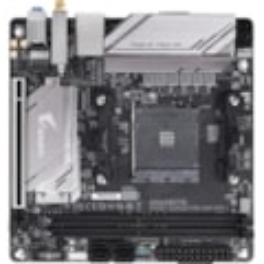 Aorus Ultra Durable B450 I AORUS PRO WIFI Desktop Motherboard - AMD Chipset - Socket AM4 - Mini ITX