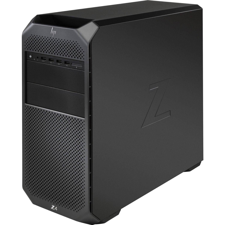 HP Z4 G4 Workstation - 1 x Intel Core X-Series Octa-core (8 Core) i7-9800X 9th Gen 3.80 GHz - 32 GB DDR4 SDRAM RAM - 1 TB HDD - 1 TB SSD - Mini-tower - Black