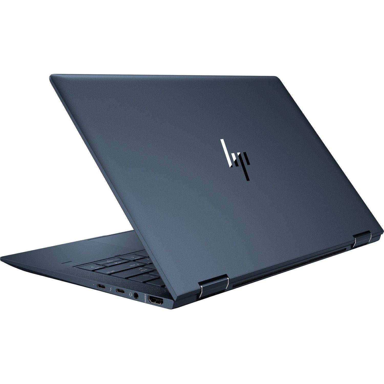 "HP Elite Dragonfly 33.8 cm (13.3"") Touchscreen 2 in 1 Notebook - 3840 x 2160 - Intel Core i5 (8th Gen) i5-8365U Quad-core (4 Core) 1.60 GHz - 16 GB RAM - 512 GB SSD - Iridescent Blue"