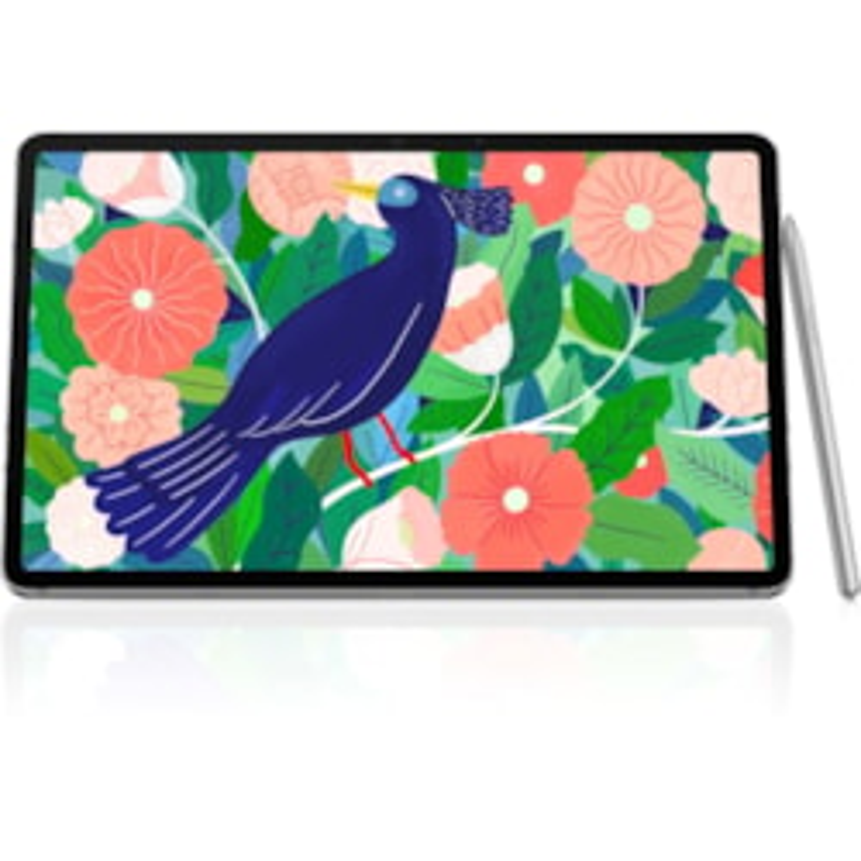 "Samsung Galaxy Tab S7 SM-T875 Tablet - 27.9 cm (11"") WQXGA - Octa-core (8 Core) 3.09 GHz 2.40 GHz 1.80 GHz - 8 GB RAM - 256 GB Storage - Android 10 - 4G - Mystic Silver"