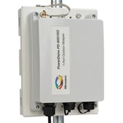 Enterasys Outdoor, single port, 10/100/1000 E/N, 802.3at PoE injector (30W)
