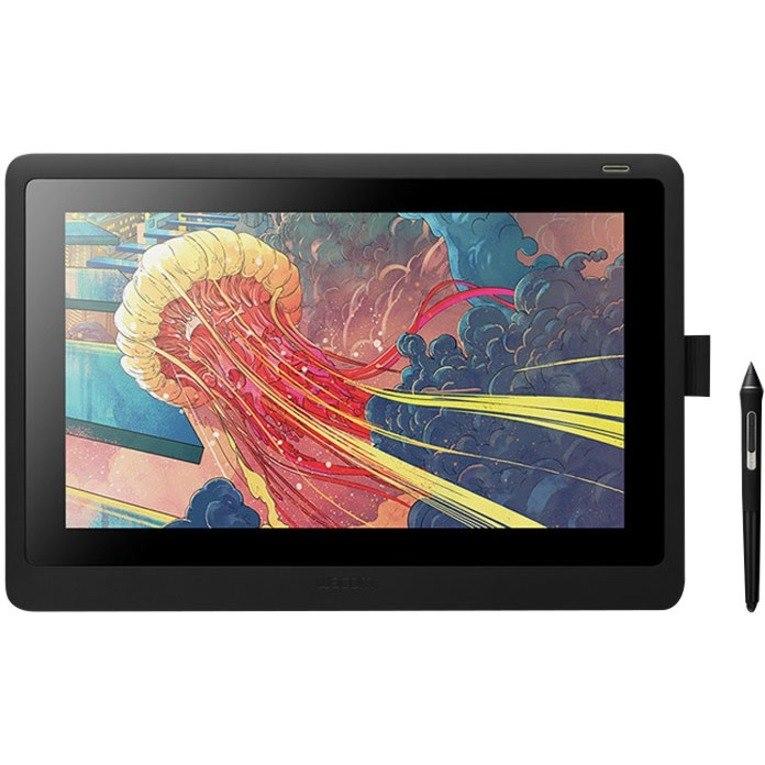 "Wacom Cintiq DTK-1660 Graphics Tablet - 39.6 cm (15.6"") LCD - 5080 lpi Full HD - Cable - Black"