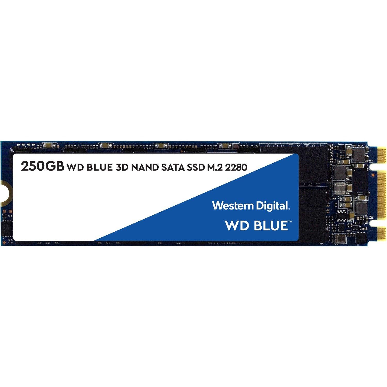 WD Blue WDS250G2B0B 250 GB Solid State Drive - M.2 2280 Internal - SATA (SATA/600)
