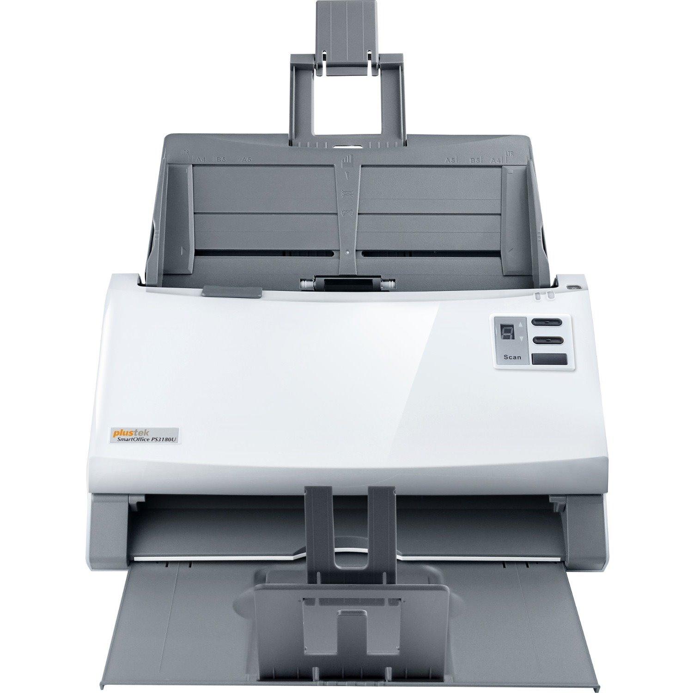 Plustek SmartOffice PS3180U Sheetfed Scanner - 600 dpi Optical