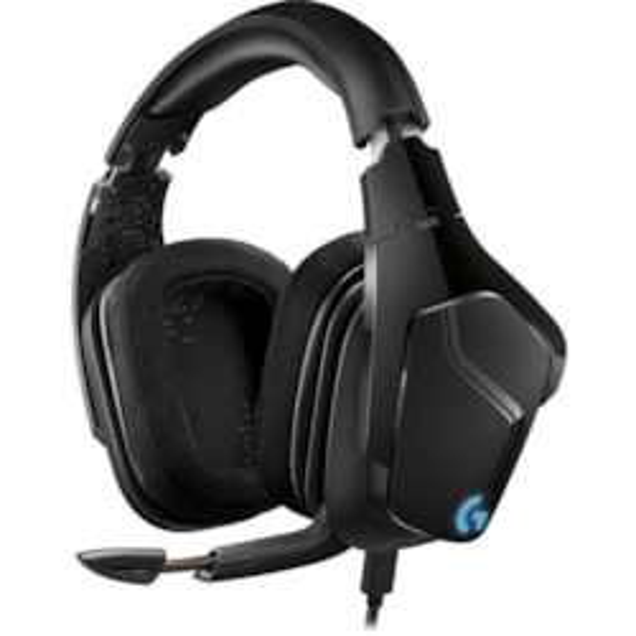 Logitech G635 Over-the-head Headset - Black