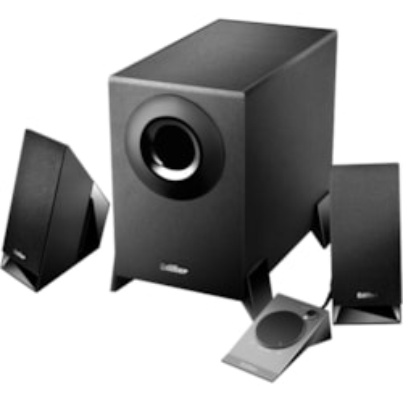 Edifier M1360 2.1 Speaker System - 8.5 W RMS - Black