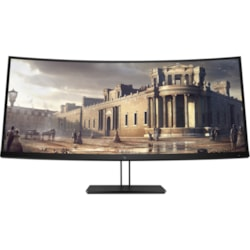 """HP Business Z38c 95.3 cm (37.5"""") UW-QHD+ Curved Screen LED LCD Monitor - 21:9 - Black"""