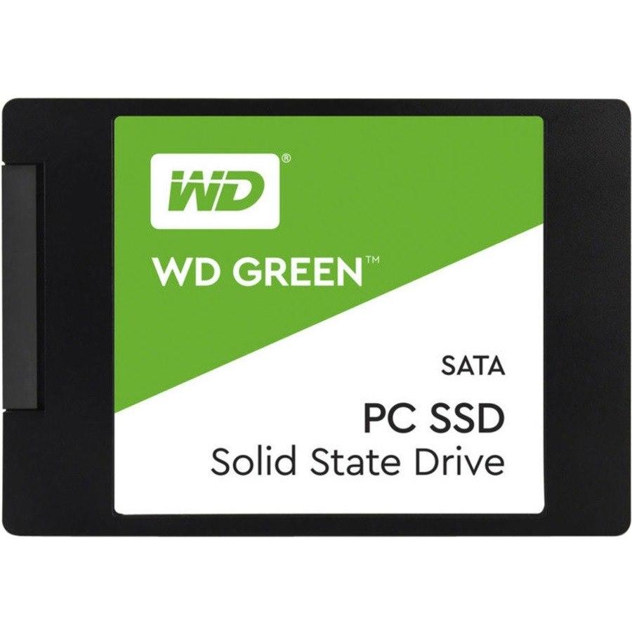 """WD Green WDS100T2G0A 1 TB Solid State Drive - 2.5"""" Internal - SATA (SATA/600)"""