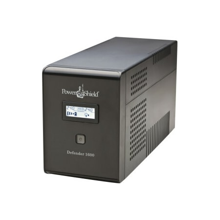 Power Shield Defender PSD1600 Line-interactive UPS - 1.60 kVA/960 W